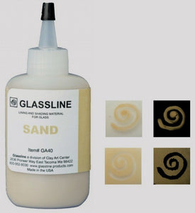 Sand Glassline Fusing Paint Pen GA 40 at www.happyglassartsupply.com  Oceanside glass amazon aae delphi