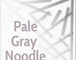 Pale Gray Transparent System96 Oceanside Compatible™ Noodles  at www.happyglassartsupply.com