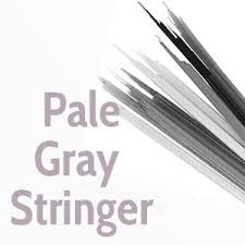 Pale Gray Transparent System96 Compatible™ Fusible Glass Stringers Happy Glass Art Supply www.happyglassartsupply.com