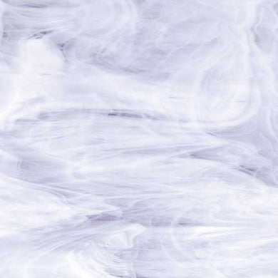 Clear / White Wispy Translucent Compatible™ Sheet Glass