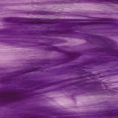 Deep Violet/Pale Purple Waterglass® Translucent Oceanside Compatible™ System 96® Sheet Glass at www.happyglassartsupply.com happy glass art supply