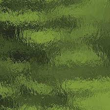 Olive Green Transparent Rough Rolled Stained Glass by Spectrum Non-Fusible Art Glass at www.happyglassartsupply.com