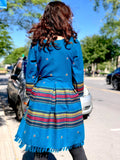 Wool dress - Blue