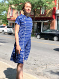Buttoned down Ikat Dress