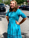 Earth Blue Dress