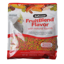 Load image into Gallery viewer, ZuPreem FruitBlend Flavor Bird Food for Medium Birds
