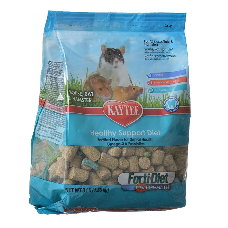 Kaytee Forti-Diet Pro Health Mouse, Rat & Hamster Food