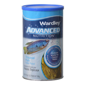 Wardley Advanced Nutrition Tropical Fish Flake Food