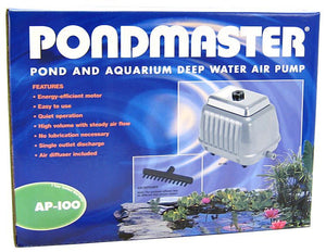 Pondmaster Pond & Aquarium Deep Water Air Pump