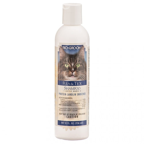 Bio Groom Flea & Tick Shampoo for Cats