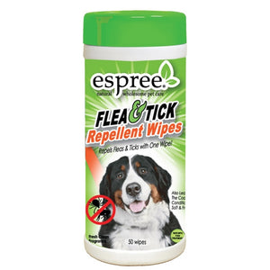 Espree Flea & Tick Repellent Wipes