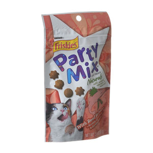 Friskies Party Mix Naturals Cat Treats - Real Salmon