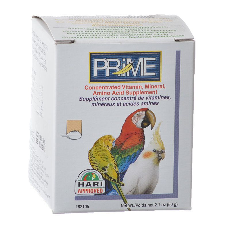 Living World Prime Concentrated Vitamin & Mineral Bird Supplement