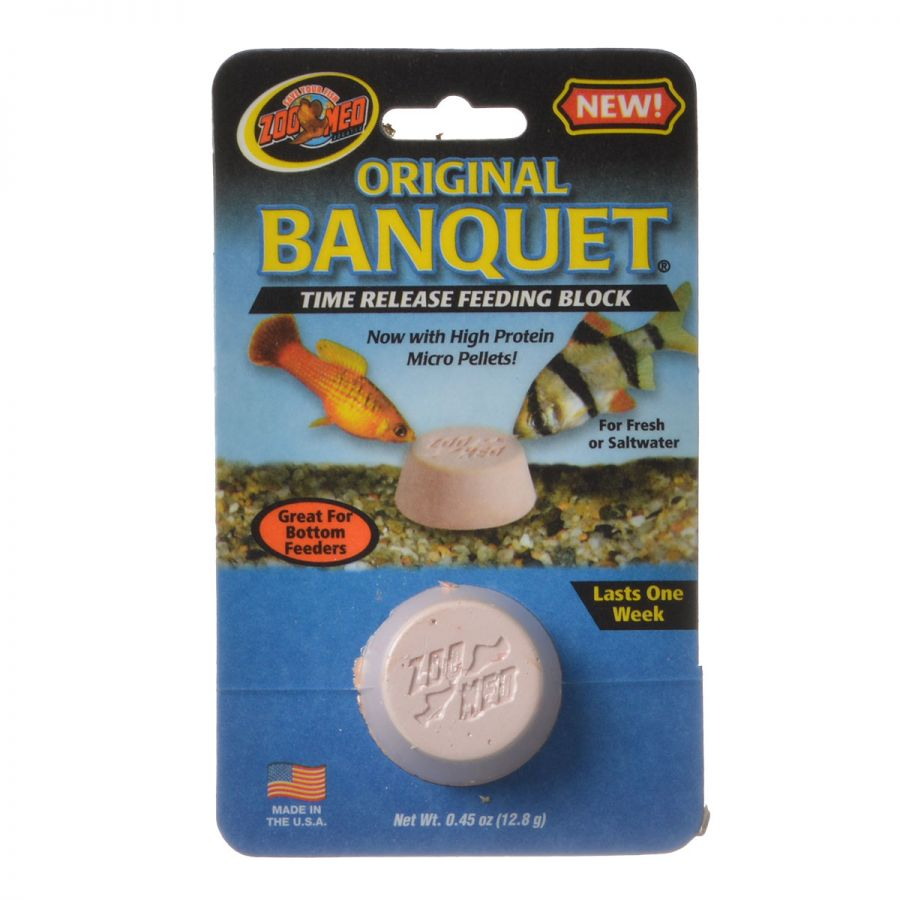 Zoo Med Original Banquet Fish Feeding Block