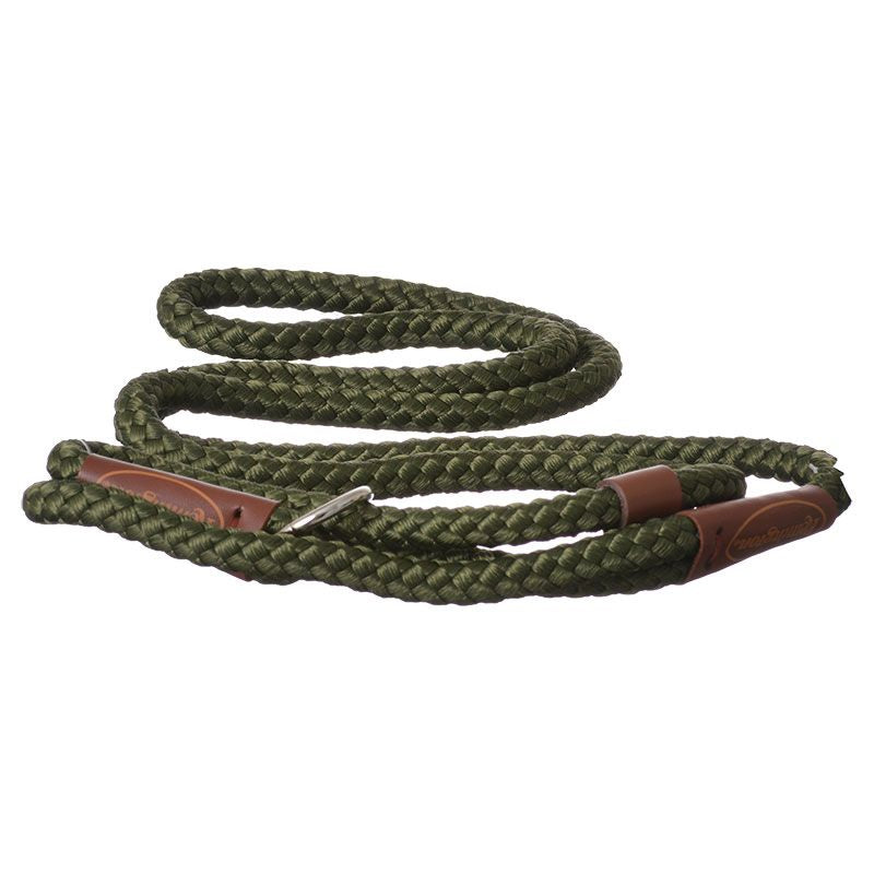 Remington 6' Braided Rope Slip Lead - Green