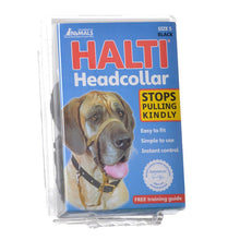 Load image into Gallery viewer, Halti Original Headcollar for Dogs Black