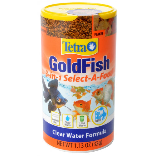 Tetra Goldfish 3-in-1 Select-A-Food
