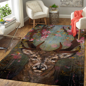 Art Of Deer Area Rug, OFD 1910166