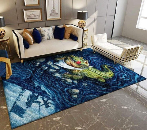 Alligator Area Rug, OFD 190908
