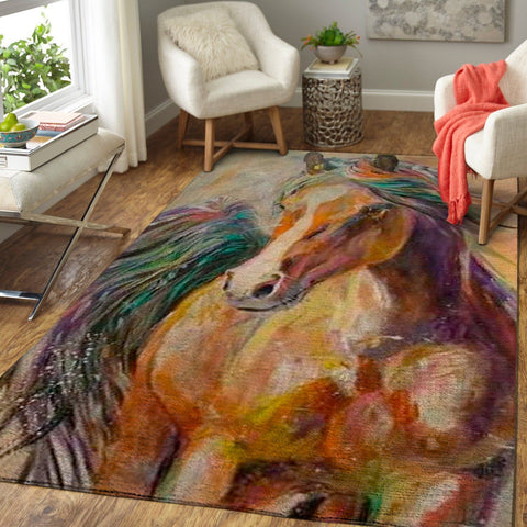 Art of Horse Area Rug OFD 1910163