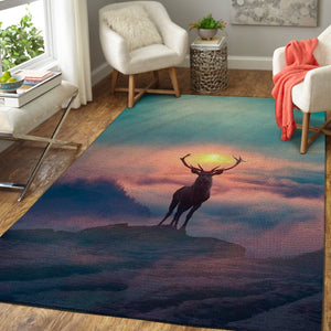 A Lonely Deer Area Rug / OFD 191016