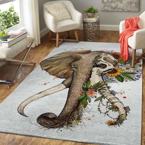 Art of Elephant Area Rug, OFD 1910161