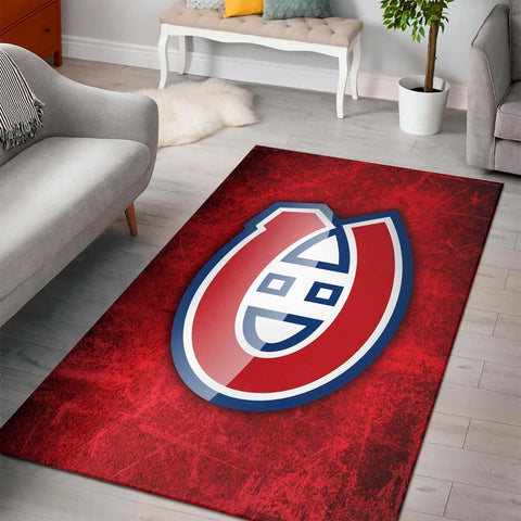 Montreal Canadiens Area Rugs NHL Hockey Living Room Carpet Team Logo Floor Home Decor