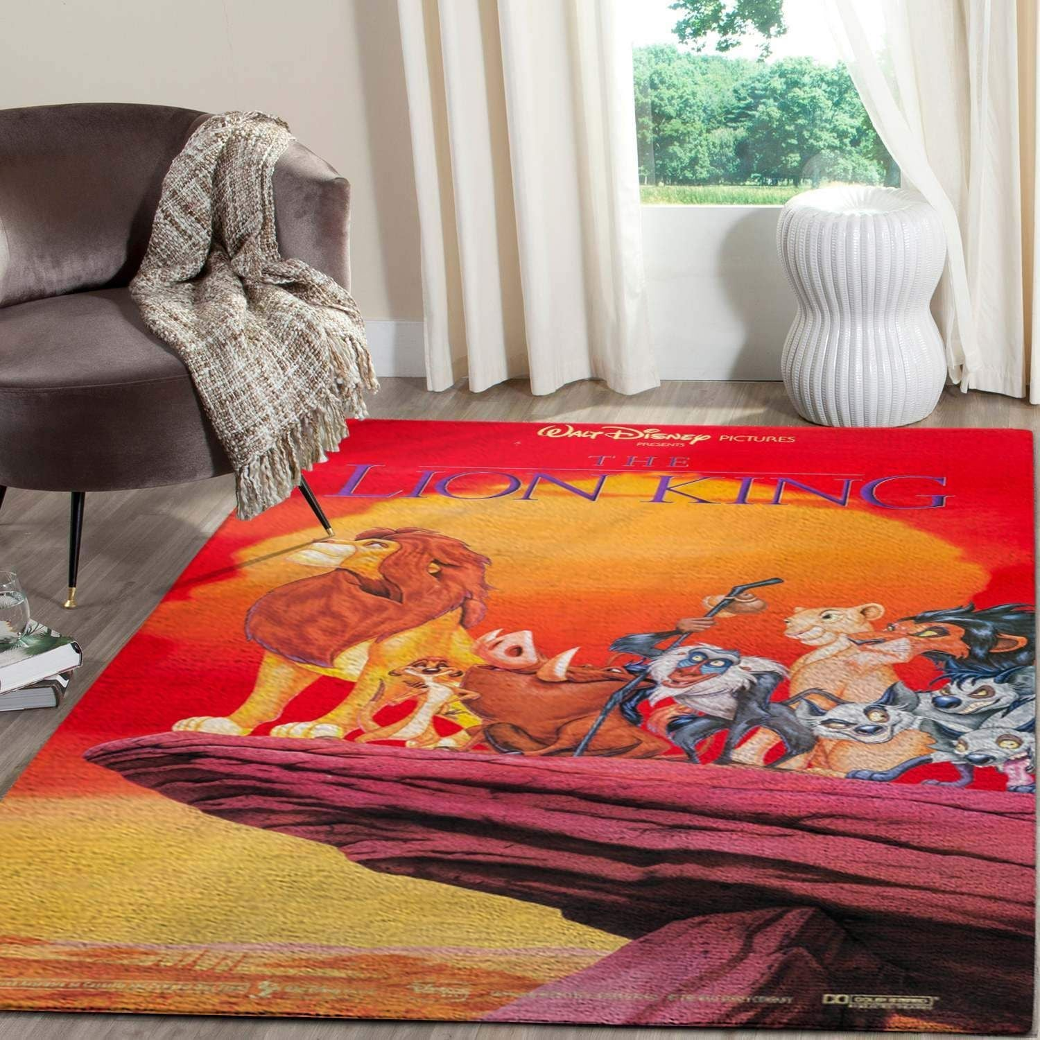 The Lion King Area Rugs Living Room Carpet Christmas Gift Floor Decor RCDD81F34950