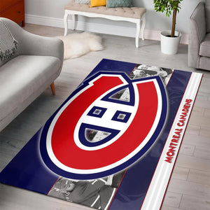 Montreal Canadiens Area Rugs NHL Hockey Living Room Carpet Team Logo Floor Home Decor 5
