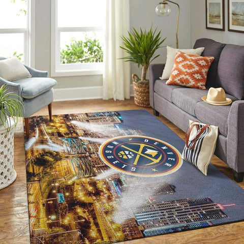 Denver Nuggets NBA Area Rugs Living Room Carpet Christmas Gift Floor Decor RCDD81F33978