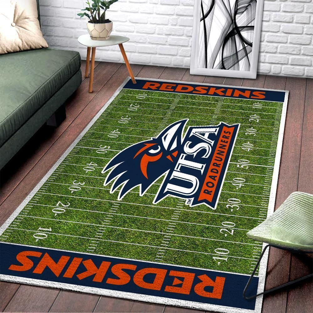 UTSA Roadrunners NCAA Football Rug Room Carpet Sport Custom Area Floor Home Decor