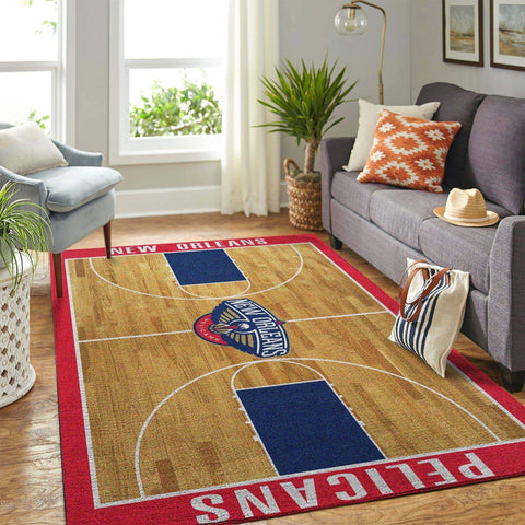 New Orleans Pelicans NBA Area Rugs Living Room Carpet Christmas Gift Floor Decor RCDD81F33500