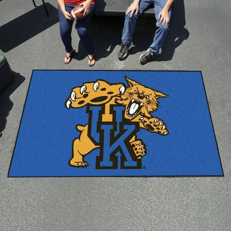 Kentucky Wildcats Area Rug, Football Living Room Carpet Home Floor Decor RB7A8E7E6879