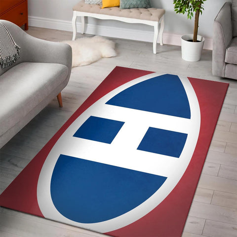 Montreal Canadiens Area Rugs NHL Hockey Living Room Carpet Team Logo Floor Home Decor 3
