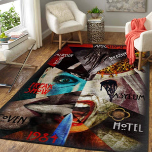 American Horror Story rug, Halloween Floor Decor