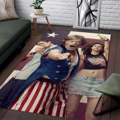 Shameless Area Rugs / Movie Living Room Carpet, Custom Floor Decor 021135