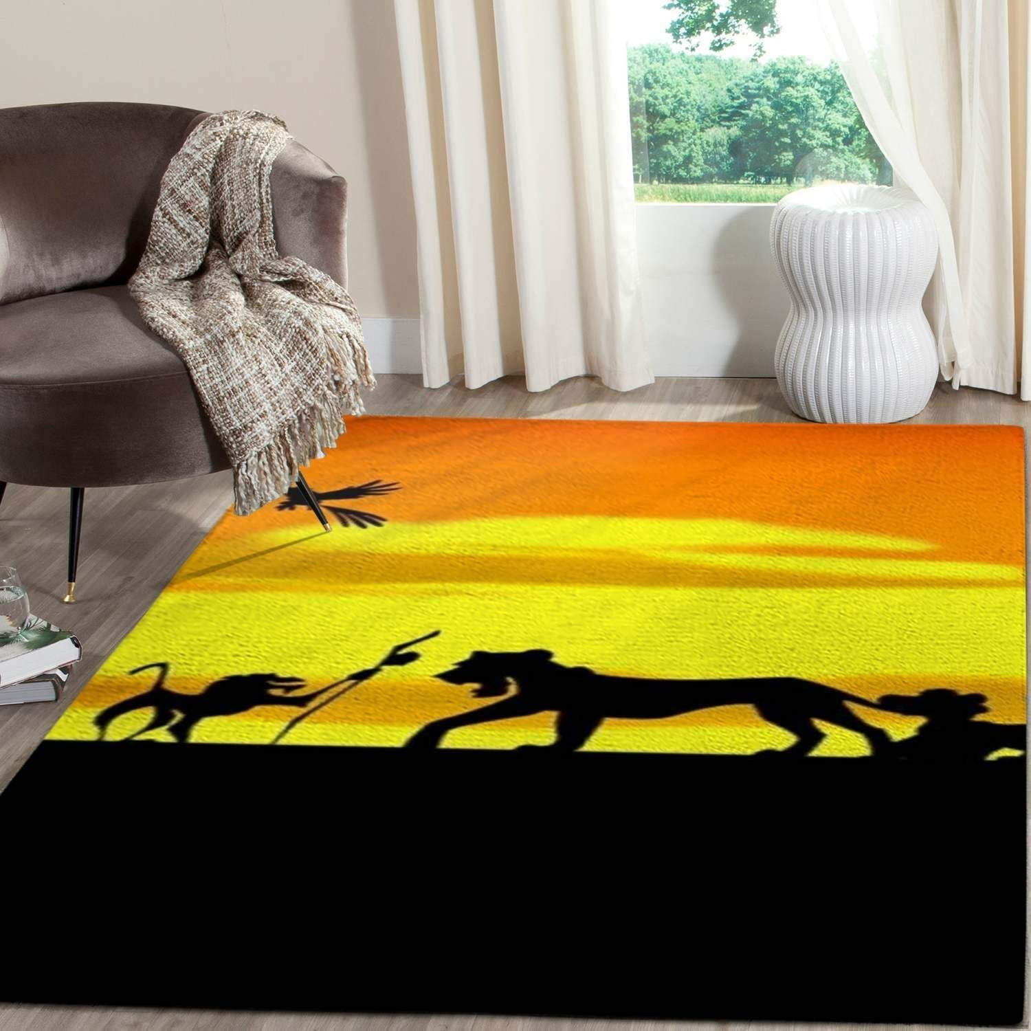 The Lion King Area Rugs Living Room Carpet Christmas Gift Floor Decor RCDD81F34952