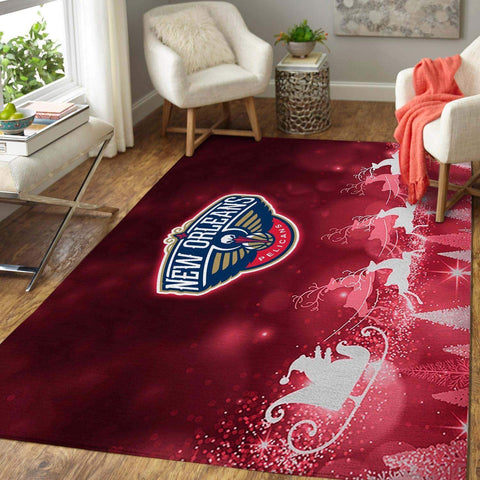 New Orleans Pelicans NBA Area Rugs Living Room Carpet Christmas Gift Floor Decor RCDD81F34005