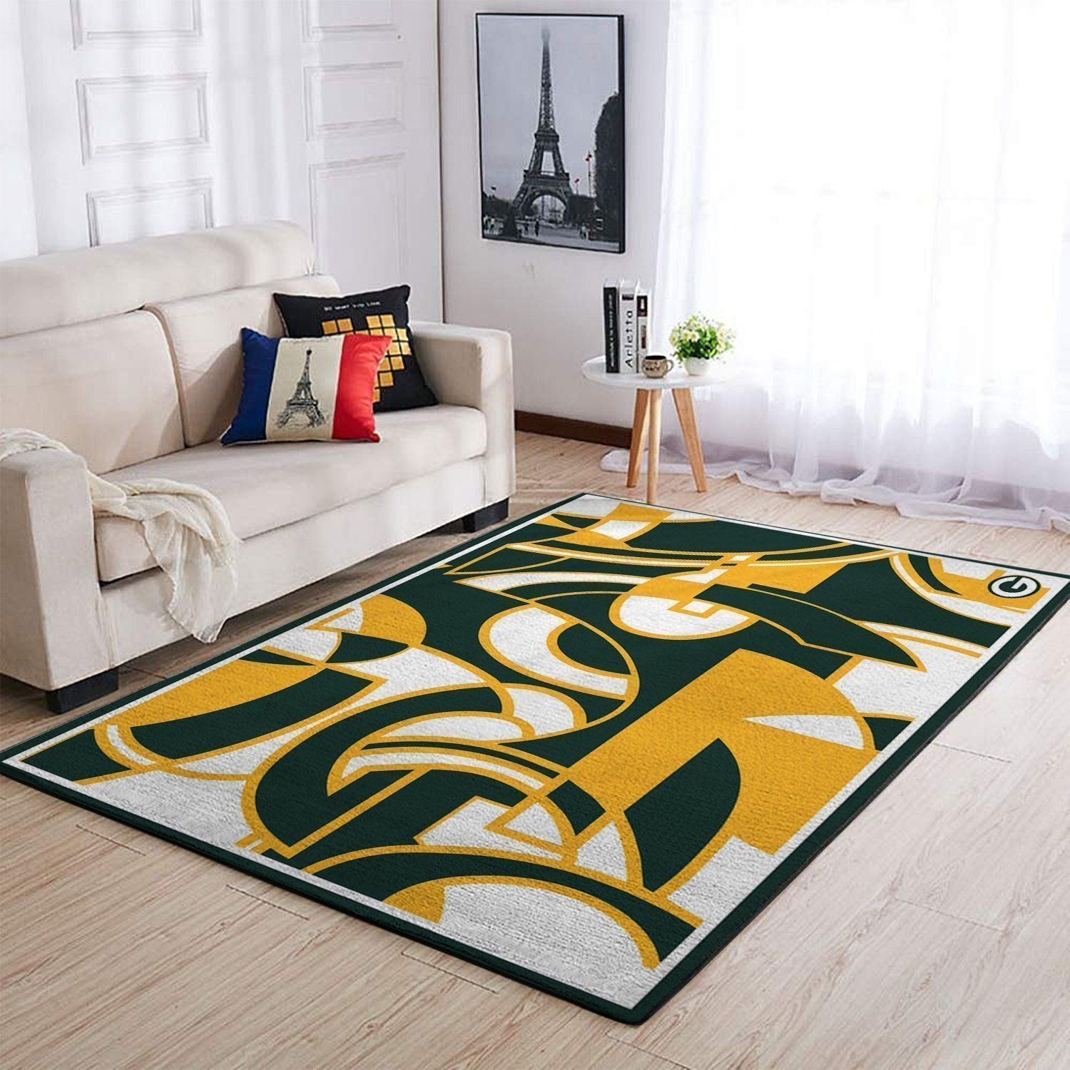 Green Bay Packers Area Rugs NFL Football Living Room Carpet Team Logo Custom Floor Home Decor 1910071