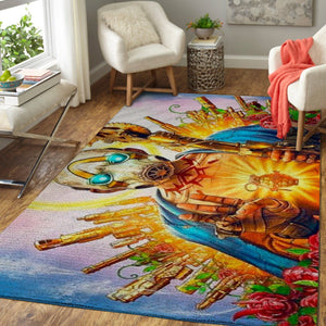 Fortnite Area Rug Video Game Carpet, Gamer Living Room Rugs, Floor Decor 1910182