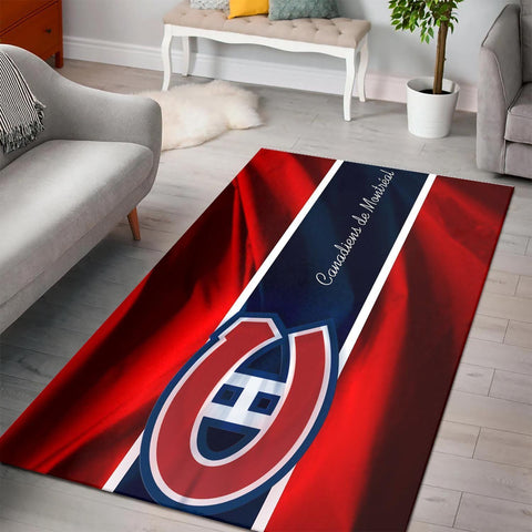 Montreal Canadiens Area Rugs NHL Hockey Living Room Carpet Team Logo Floor Home Decor 6
