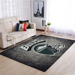 Philadelphia Eagles Area Rugs NFL Football Living Room Carpet Team Logo Custom Floor Home Decor