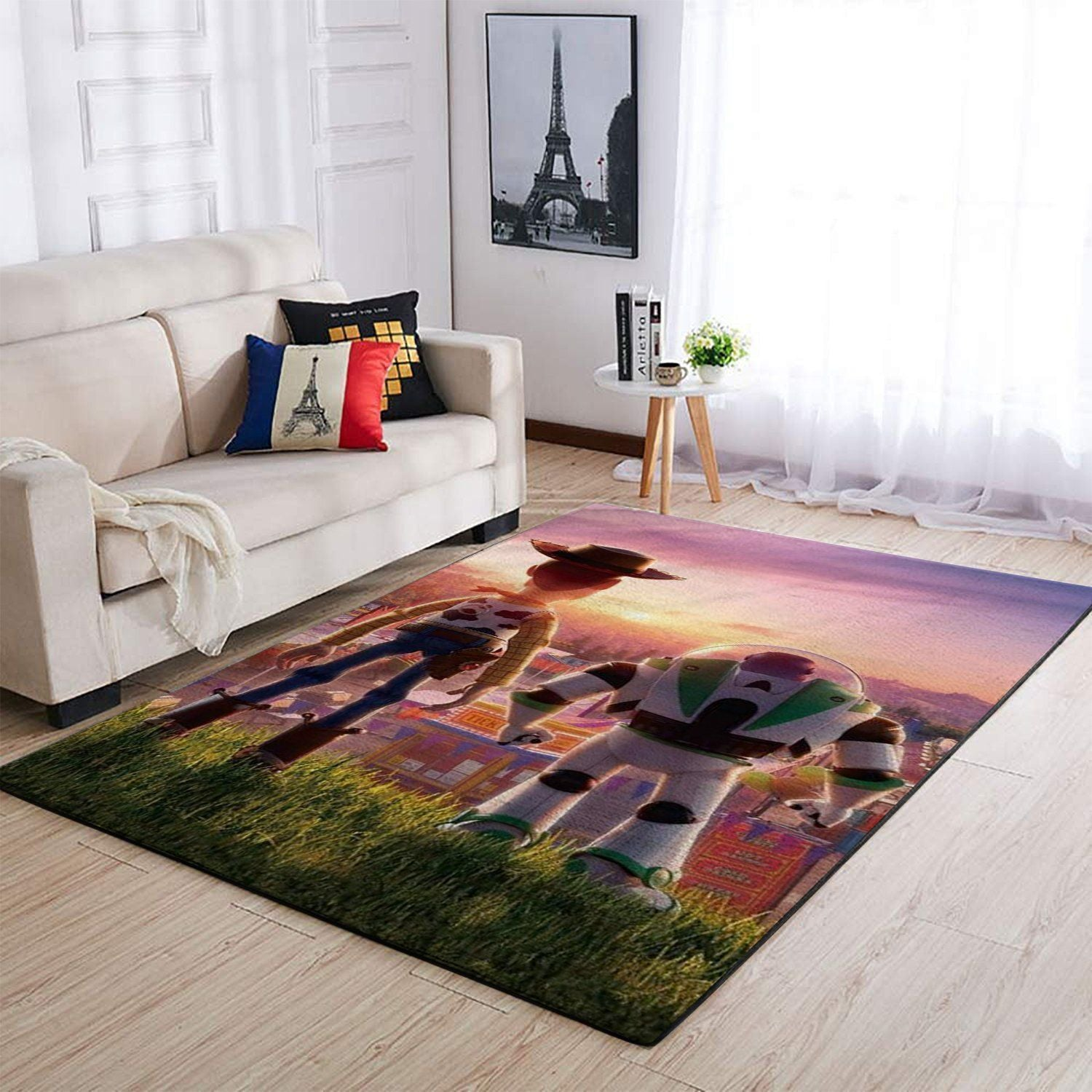 Disney Toy Story Area Rugs / Movie Living Room Carpet, Custom Floor Decor 3