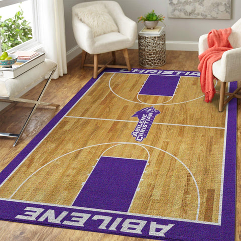 Abilene Christian University Area Rugs NCAA Football Basketball Living Room Carpet Sport Custom Area Floor Home Decor