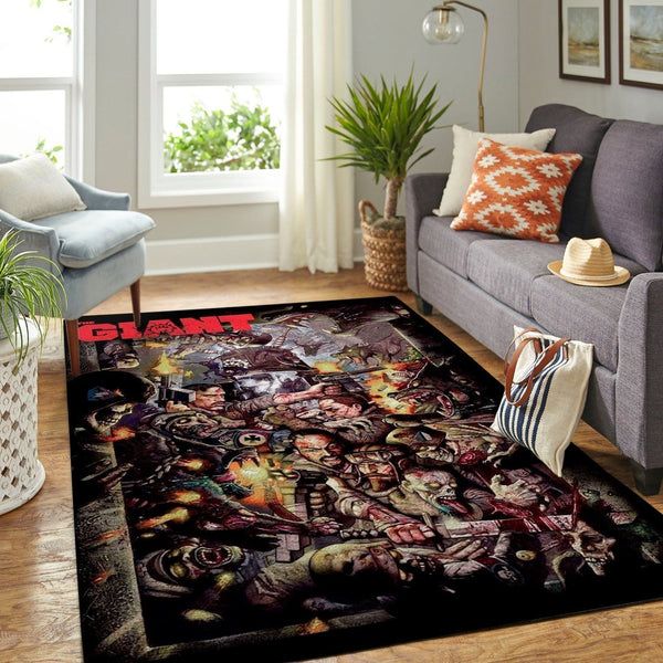Call of Duty Black Ops Area Rug / Gaming Carpet, Gamer Living Room Rugs, Floor Decor 19091601