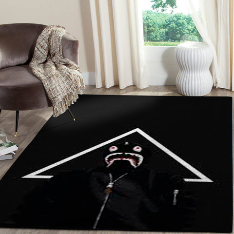 BAPE Area Rug Hypebeast Carpet, Luxurious Fashion Brand Logo Living Room  Rugs, Floor Decor 1912051