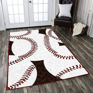 Baseball Skin Area Rugs / Living Room Rugs, Custom Carpet Floor Home Decor AZC190903