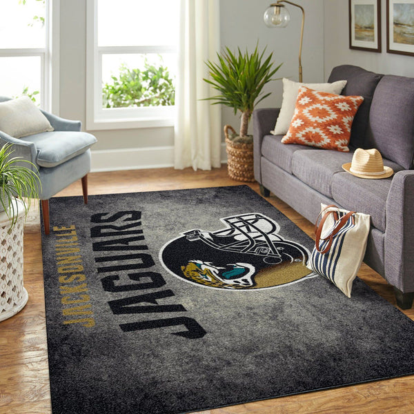 Jacksonville Jaguars Area Rugs NFL Football Living Room Carpet Team Logo Custom Floor Home Decor