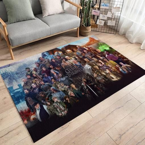 Game Of Thrones Area Rugs / Movie Living Room Carpet, Custom Floor Decor 02119
