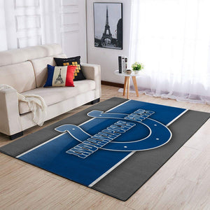 Indianapolis Colts Area Rugs NFL Football Living Room Carpet Team Logo Custom Floor Home Decor 191007